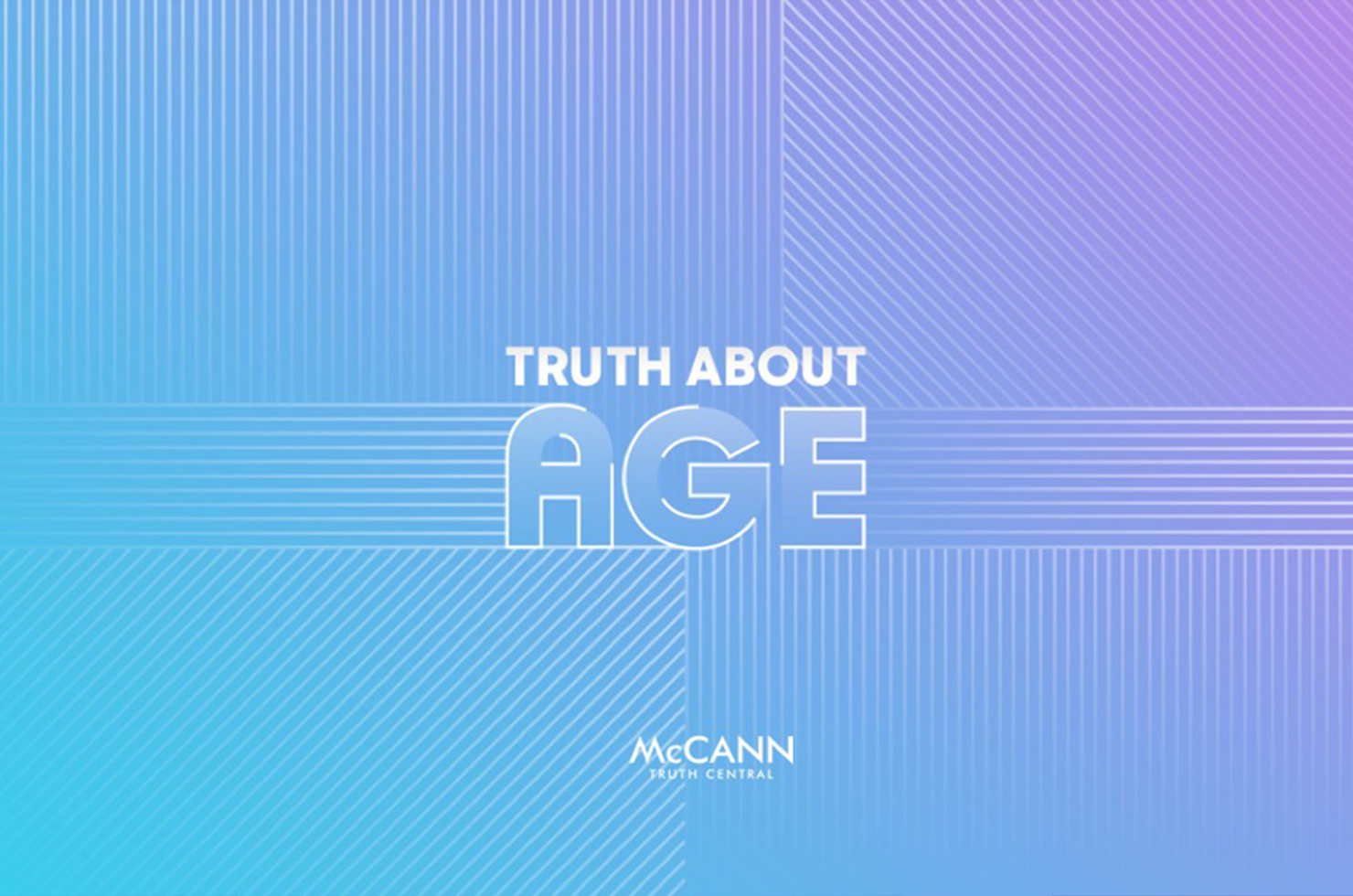 "McCANN Worldgroup launcht Studie ""Truth about Age"""