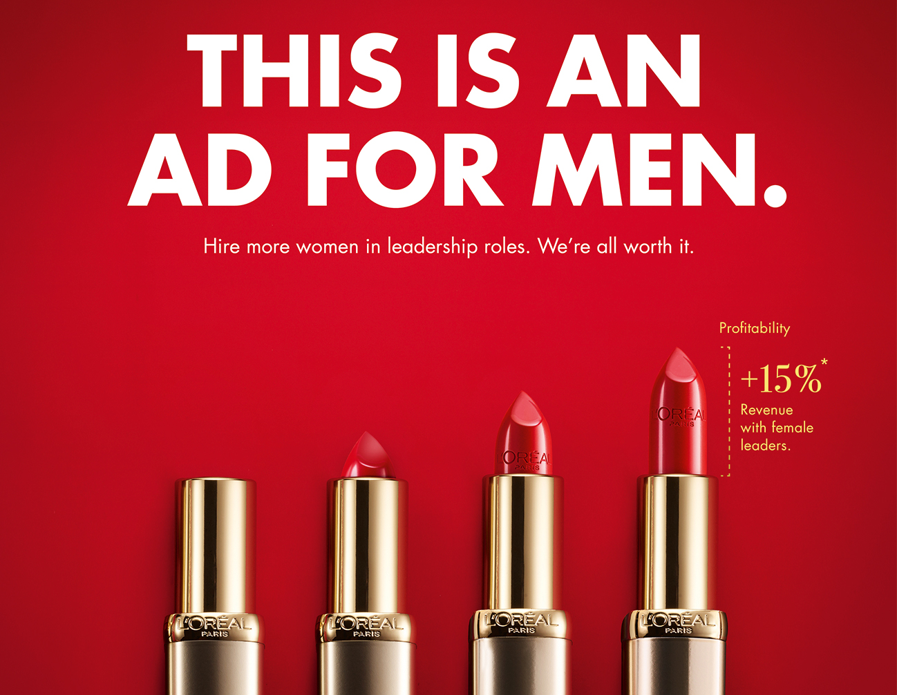 Ad for Men
