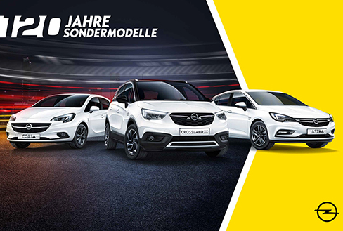 Opel und VELOCITY McCANN starten Jubiläumskampagne