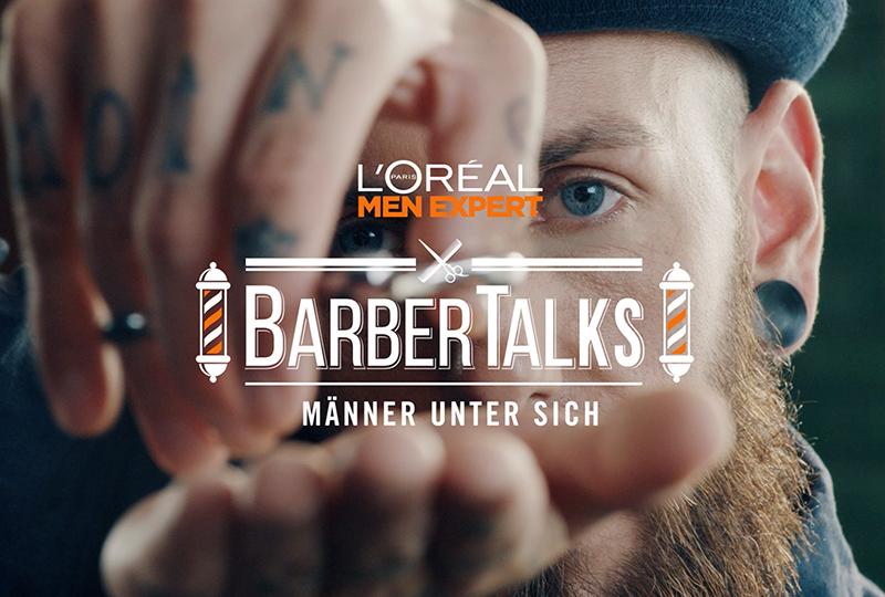 """""""Barber Talks"""" - McCANN und L'Oréal Paris gehen echten Männern an den Bart"""