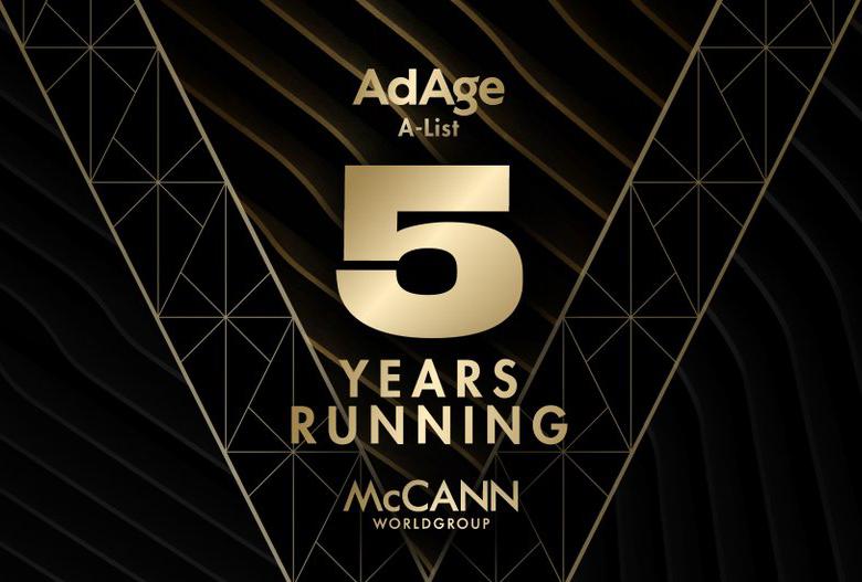 McCANN Worldgroup in die Top 10 der Ad Age A-Liste aufgenommen