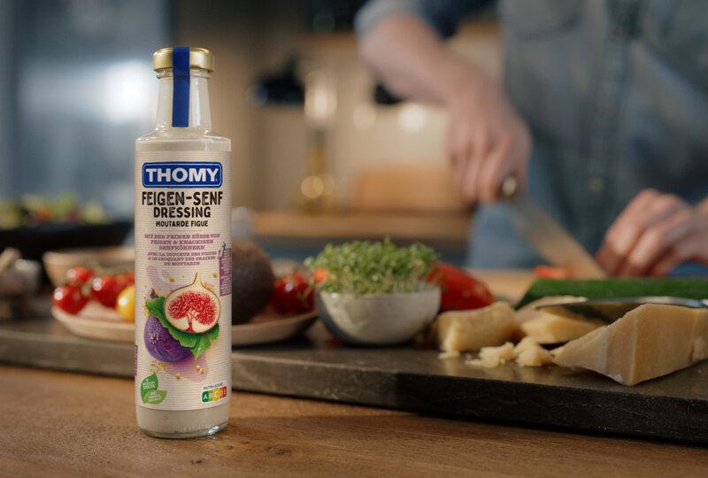 Zum Verlieben – THOMY und McCann launchen Kampagne für neue Salatdressings