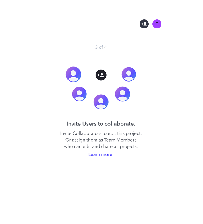 Frame.io tooltip made with Appcues