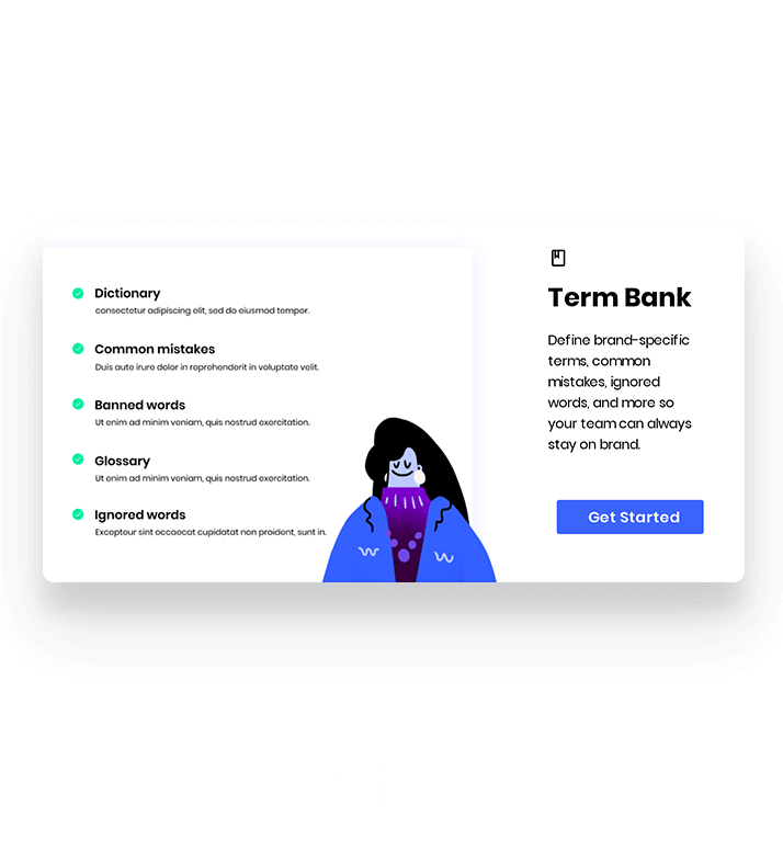 Writer modal made using Appcues