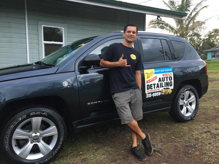 Andrew Schwartz, Zippy Klean Mobile Auto Detailing team member