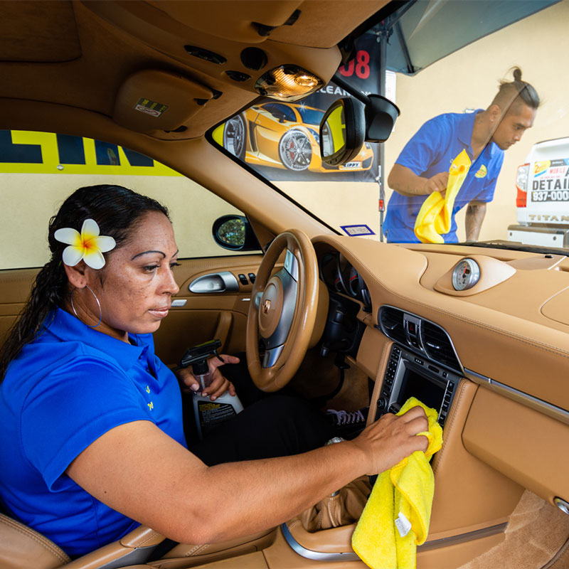 Interior cleaning in Hawaii