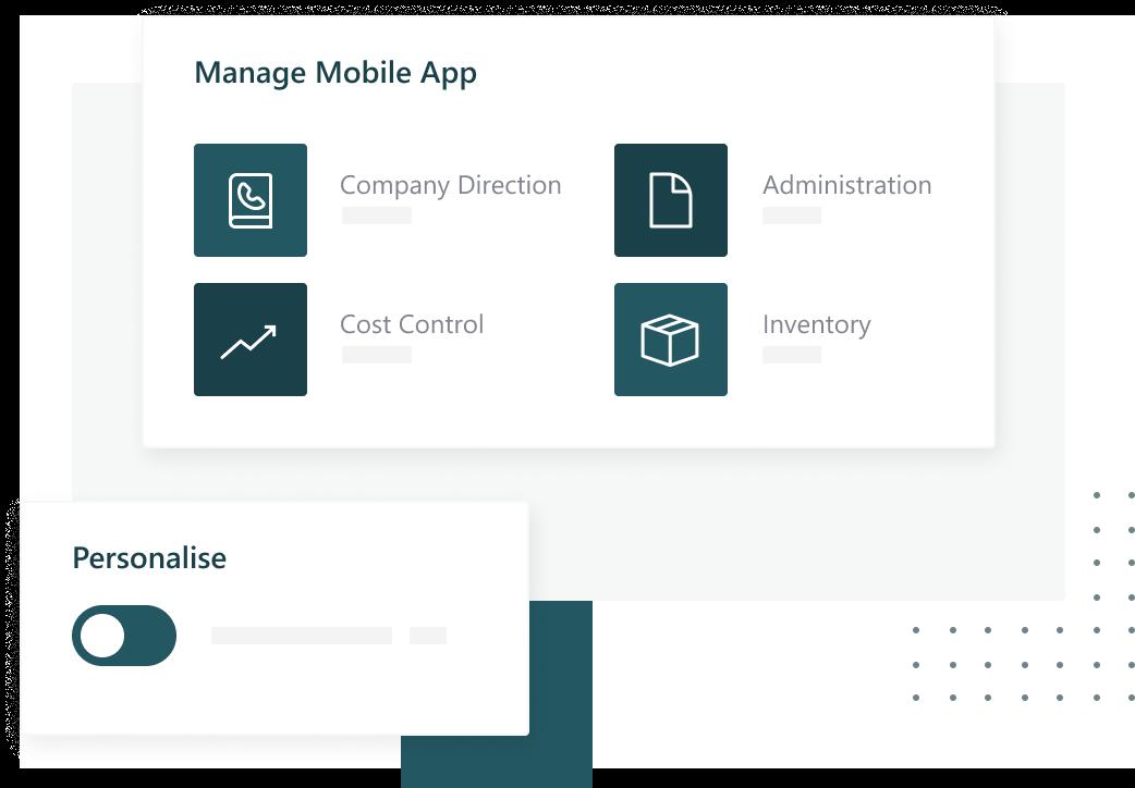 A modern and adaptable platform image