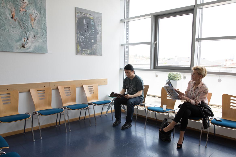 Wartezimmer Kardiopraxis Kaiserslautern