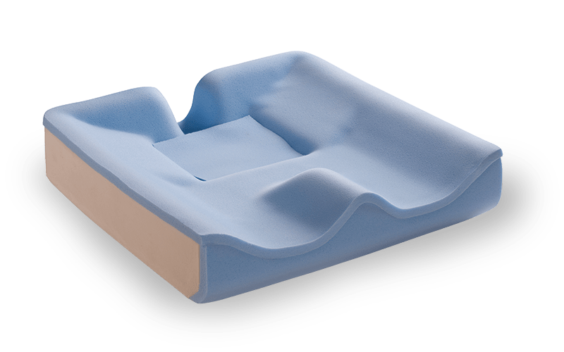 Contoured-Fit Cushion with foam insert