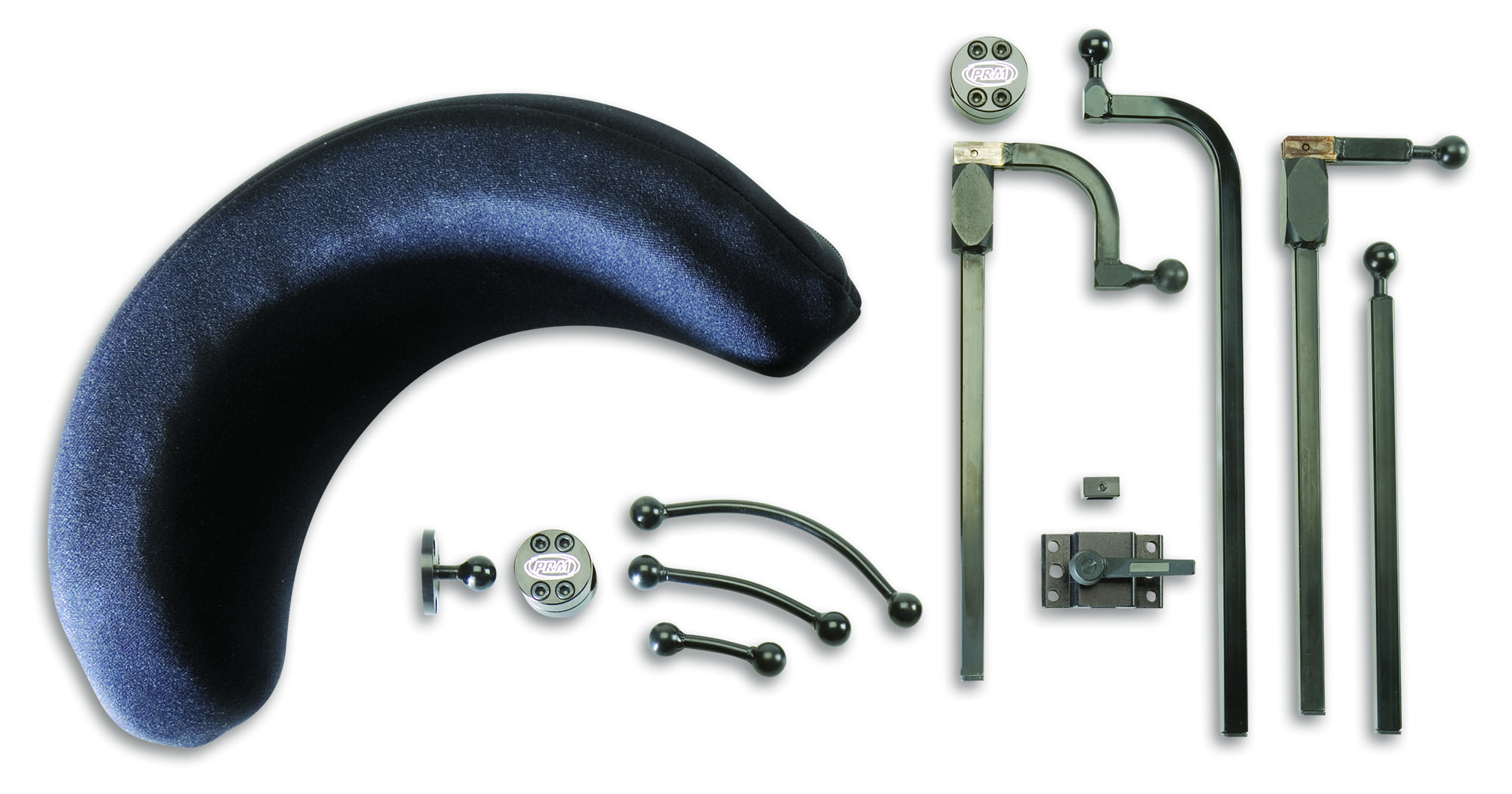 Headrest and mounting parts