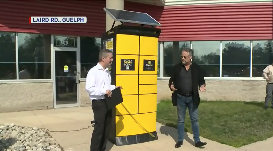 """CTV Kitchener: A new Guelph company called """"ShipperBee"""" is promising a smarter and greener way to ship."""