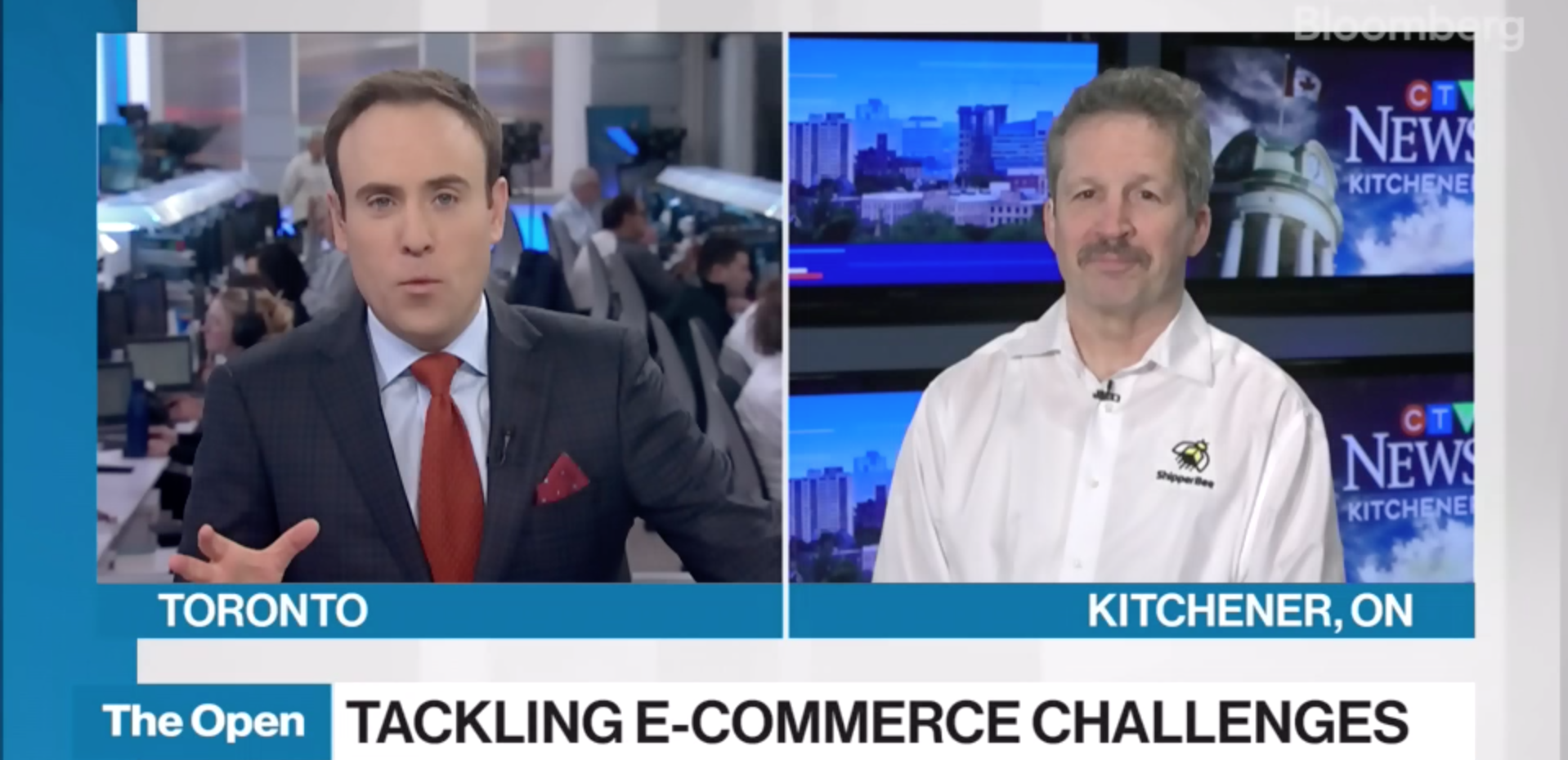Jim Estill, Founder & CEO, ShipperBee, discusses how he's working to tackle e-commerce issues.