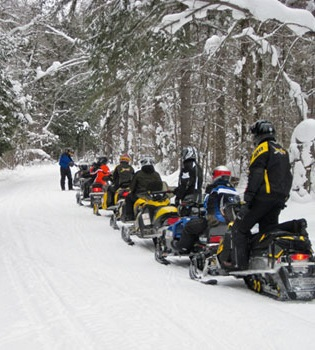Winter Snowmobiling