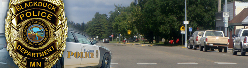 City of Blackduck, MN Police Department