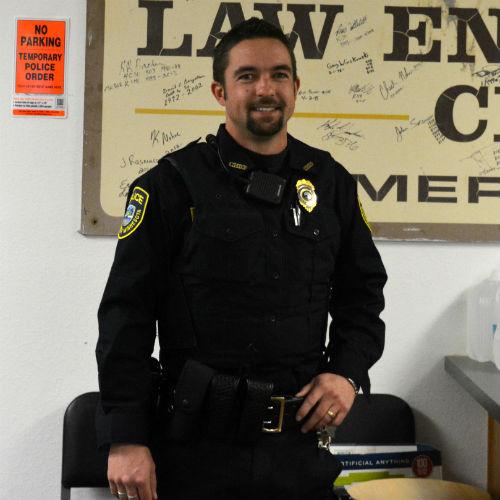 Jace Grangruth, Police Chief