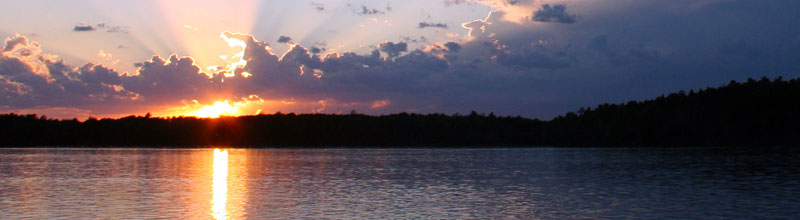 City of Blackduck, MN Employment Opportunities - beautiful sunset over lake