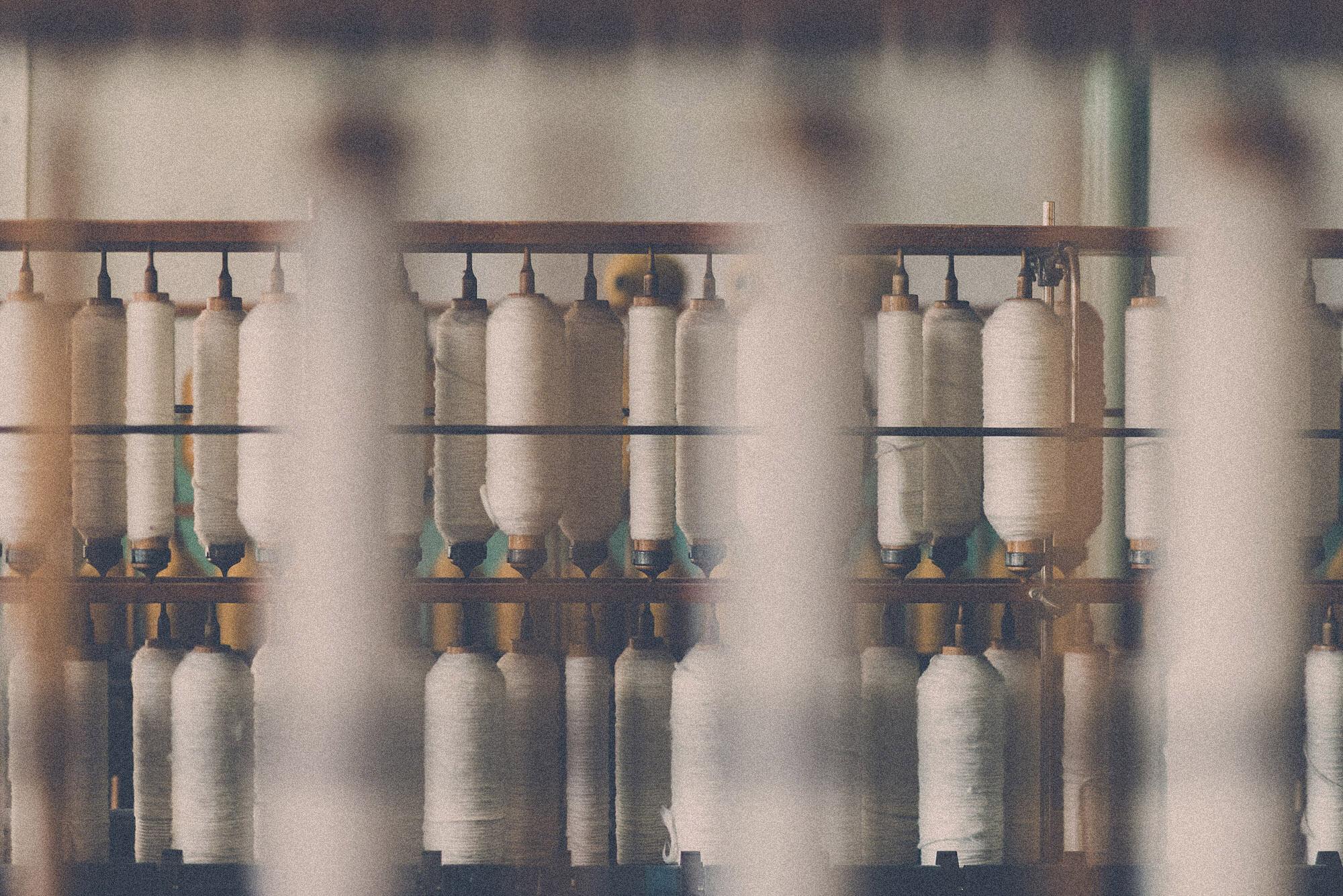 Yamamoto organic Slow Fashion  – cotton yarns