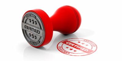 Certifications / Insurance