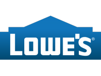 Lowe's logo with link to store detail page