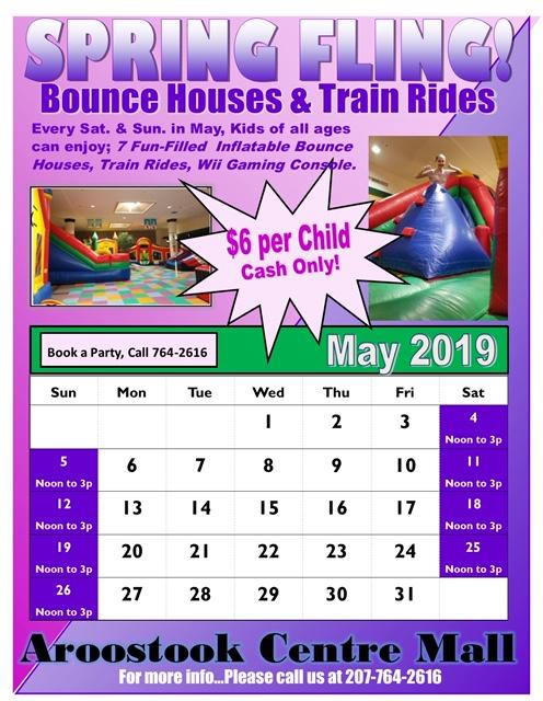 Calendar for bounce events