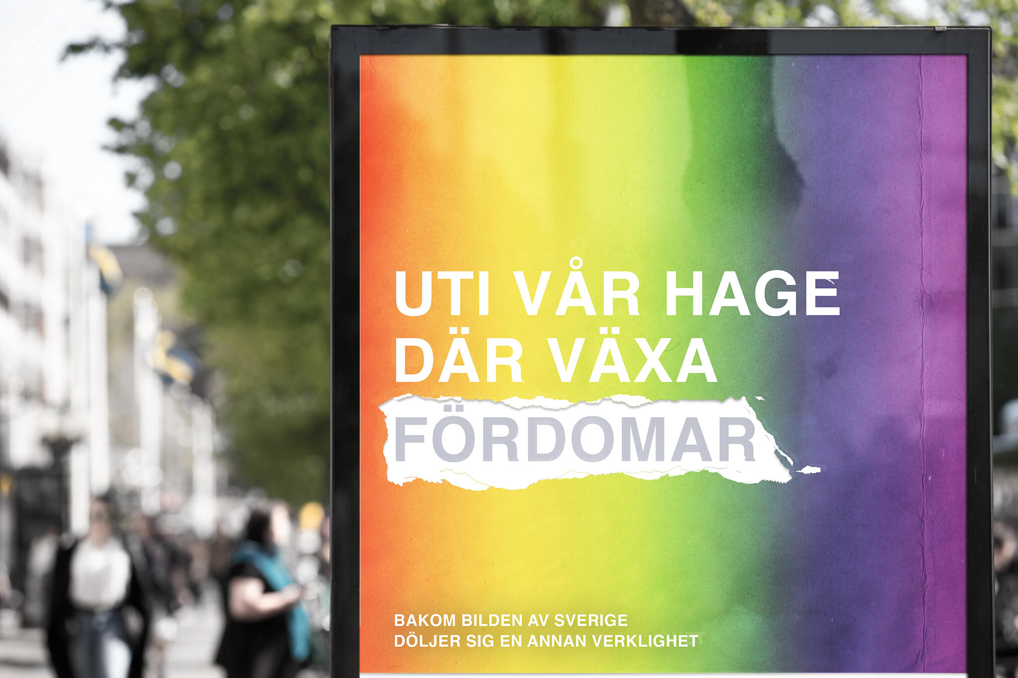 This year, Pride week falls at the same time as the Swedish National Day