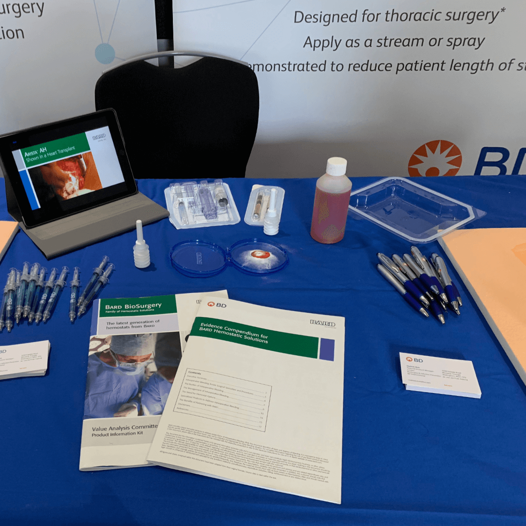 London Core Review Cardiothoracic Surgery Course - Sponsor  - BD - Product Placement