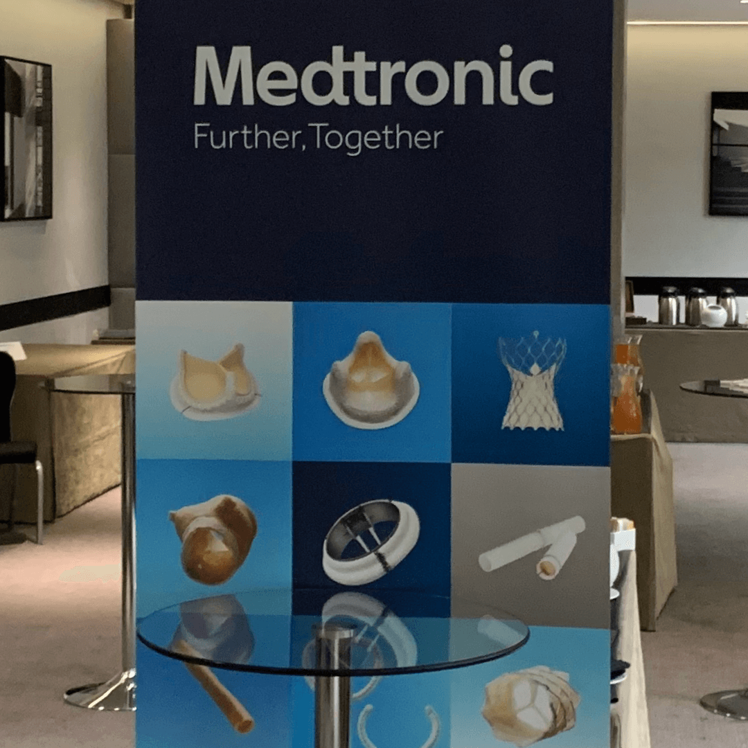 London Core Review Cardiothoracic Surgery Course - Sponsor Medtronic Poster