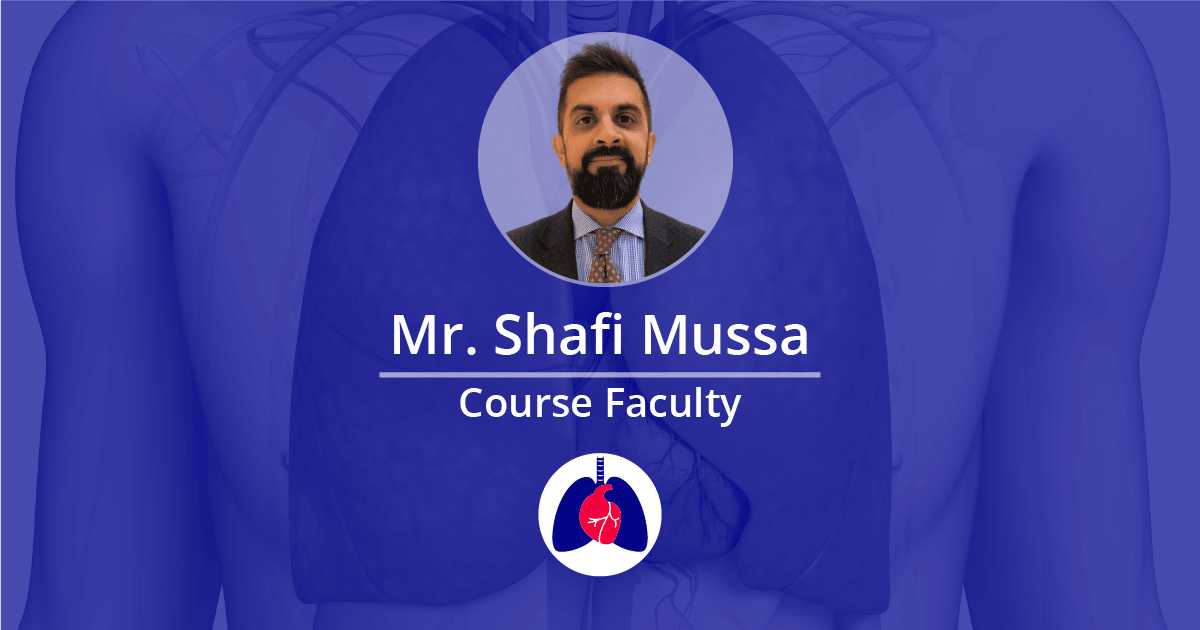 Mr. Shafi Mussa - Faculty