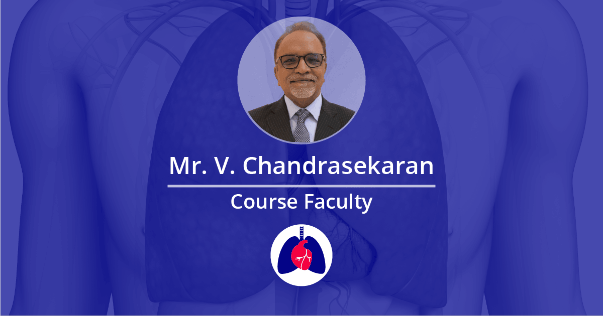 Mr V Chandrasekaran Faculty London Core Review