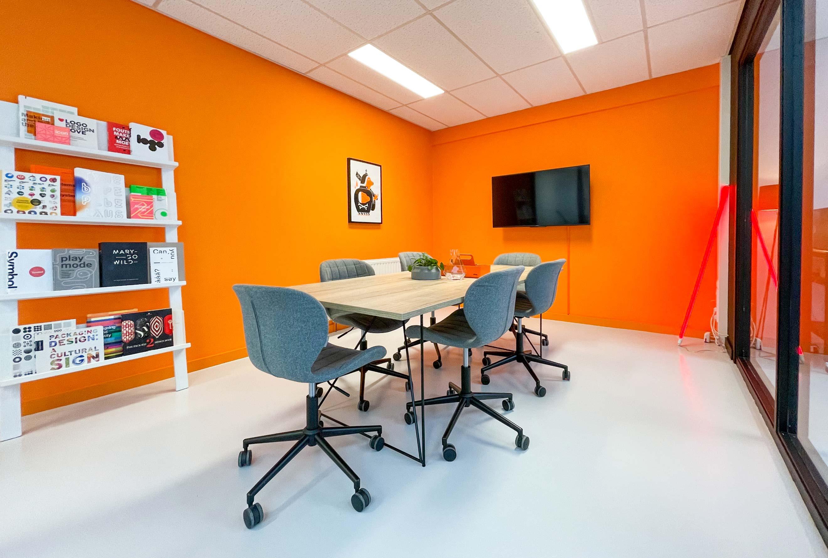 Bigbooom office, team overleg