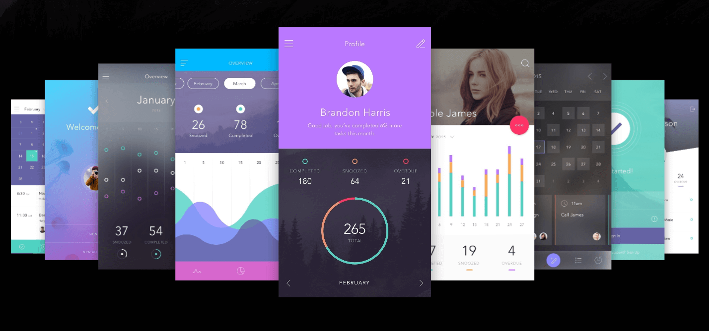 Free UI kit from Invision for mobile apps. DO app UI kit is free to download for Photoshop and Sketch.