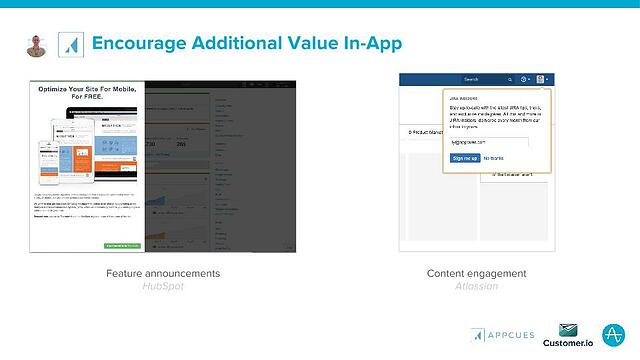 Encourage Additional Value In-App