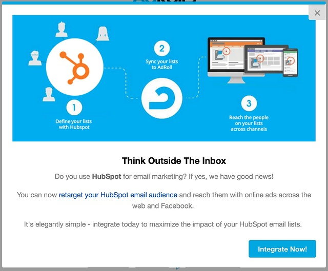 AdRoll HubSpot integration