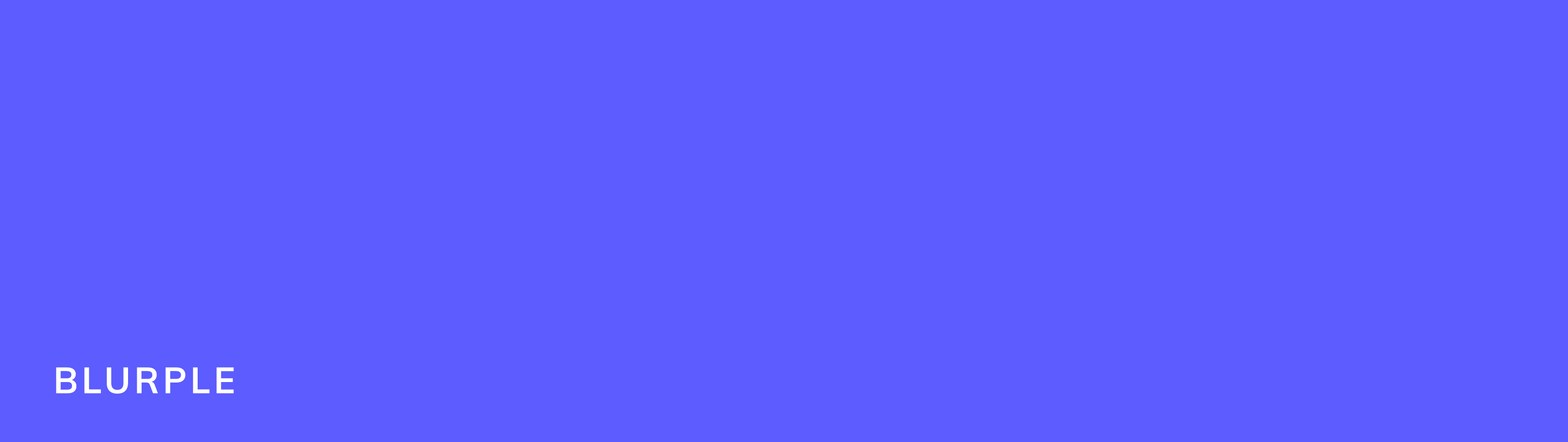 This is the primary Appcues brand color. It is a vibrant blue-ish purple called Blurple.