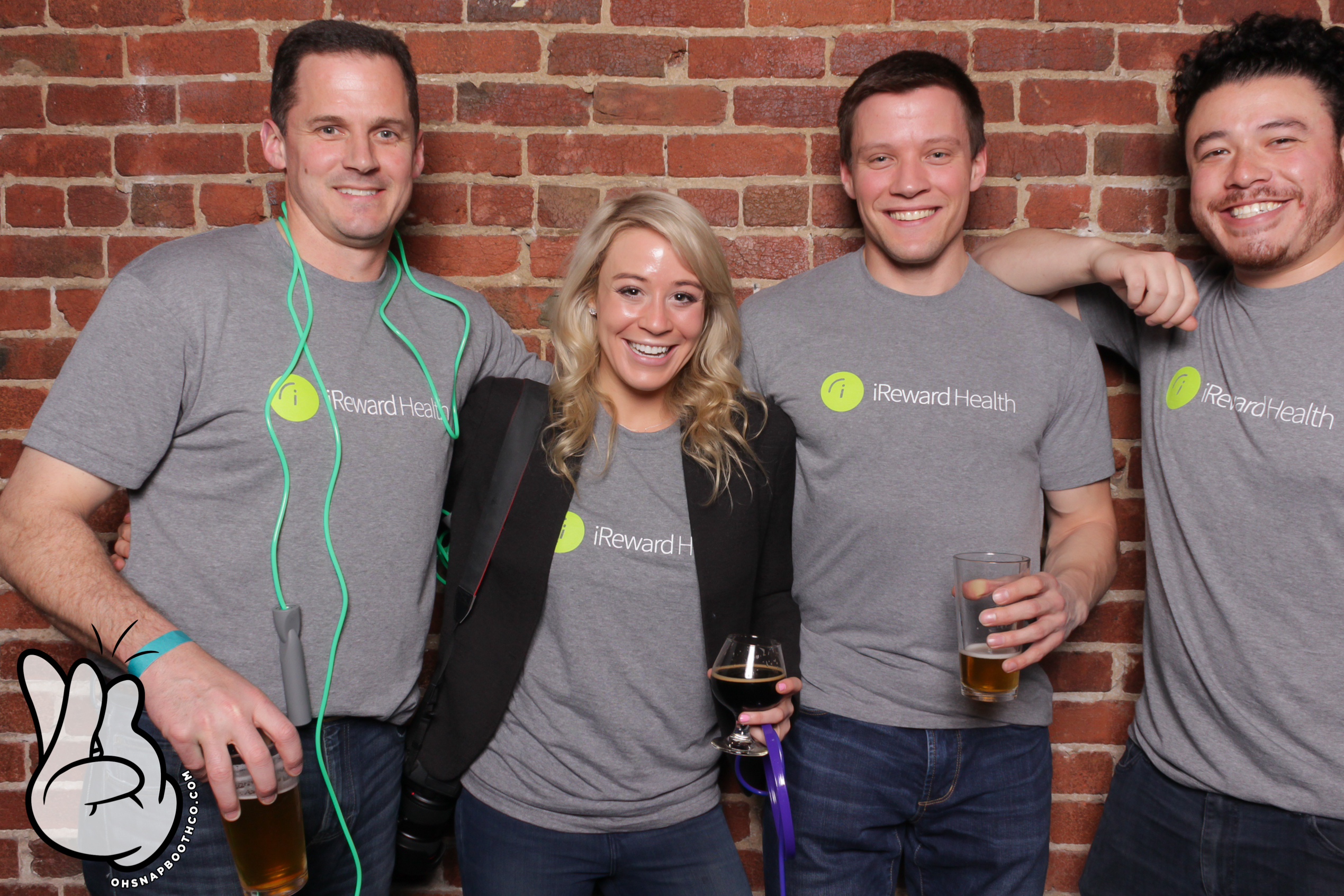 iReward Health's team at Drunk User Testing
