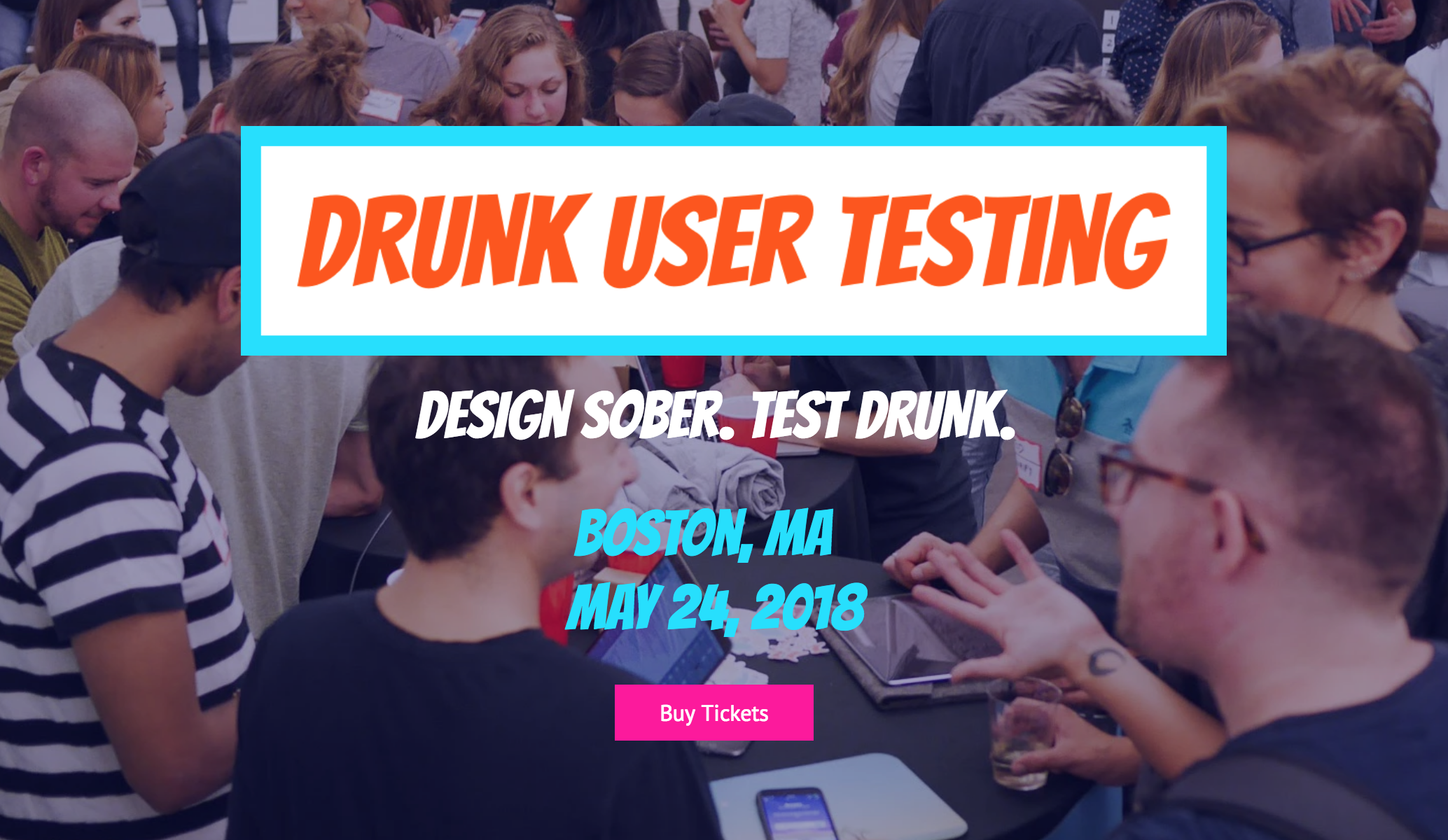 Boston Drunk User Testing