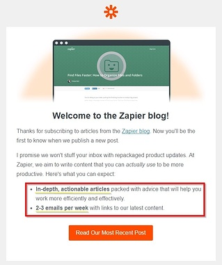 user retention zapier