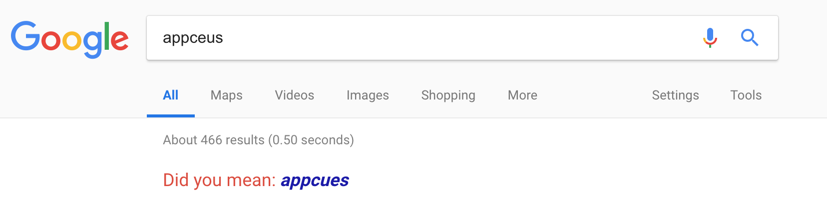 An image of google search showing forgiveness in UI. Forgiveness is part of an intuitive UI. Here, the google search offers spelling suggestions.