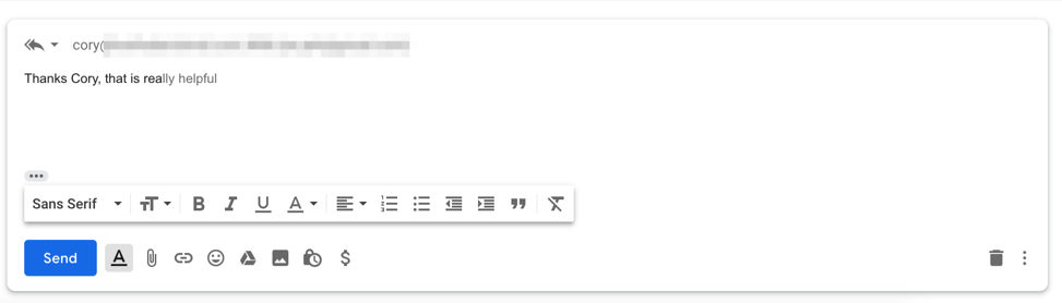 Gmail predicitive text is an example of intuitive design. Because it feels so new it may not be immediately intuititve, but it is very efficient and users will get used to it in time,