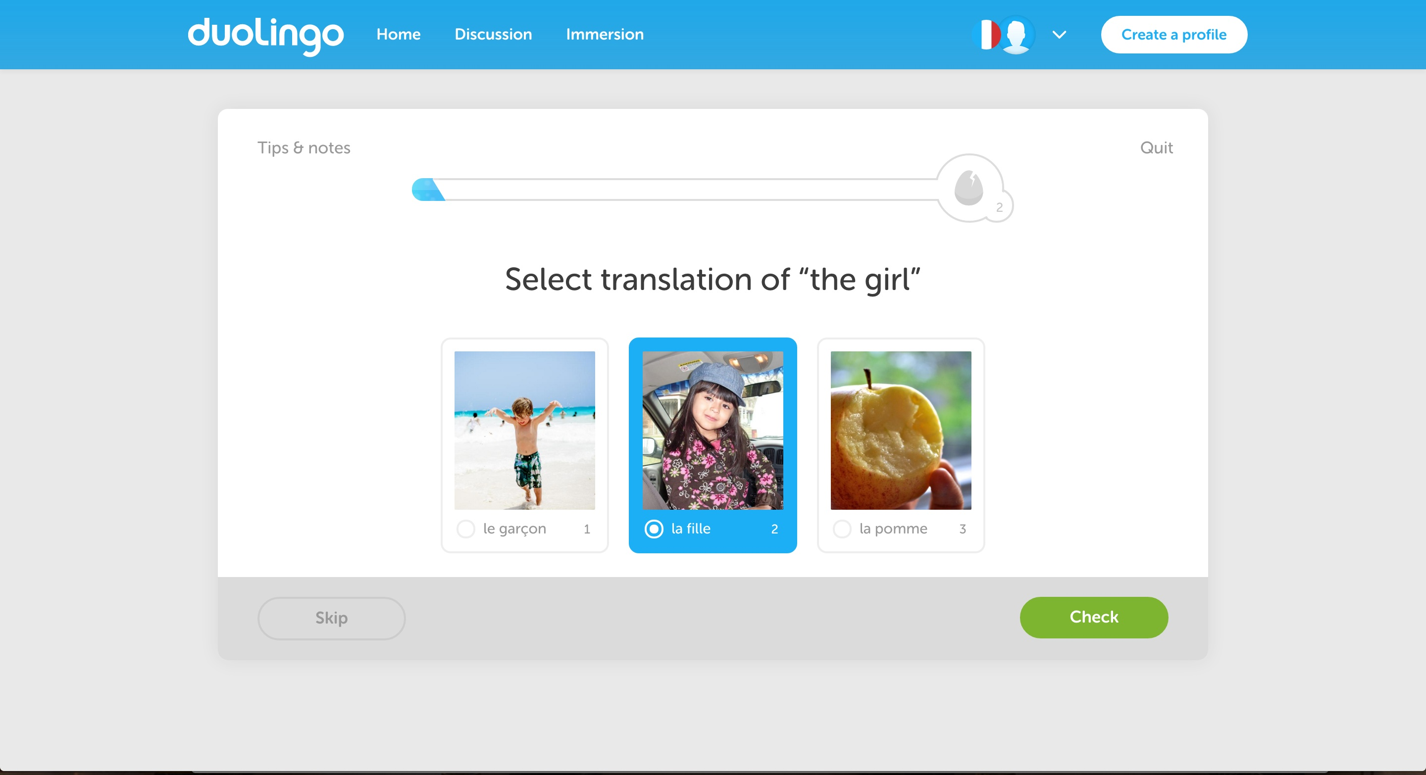 duolingo user onboarding step 12
