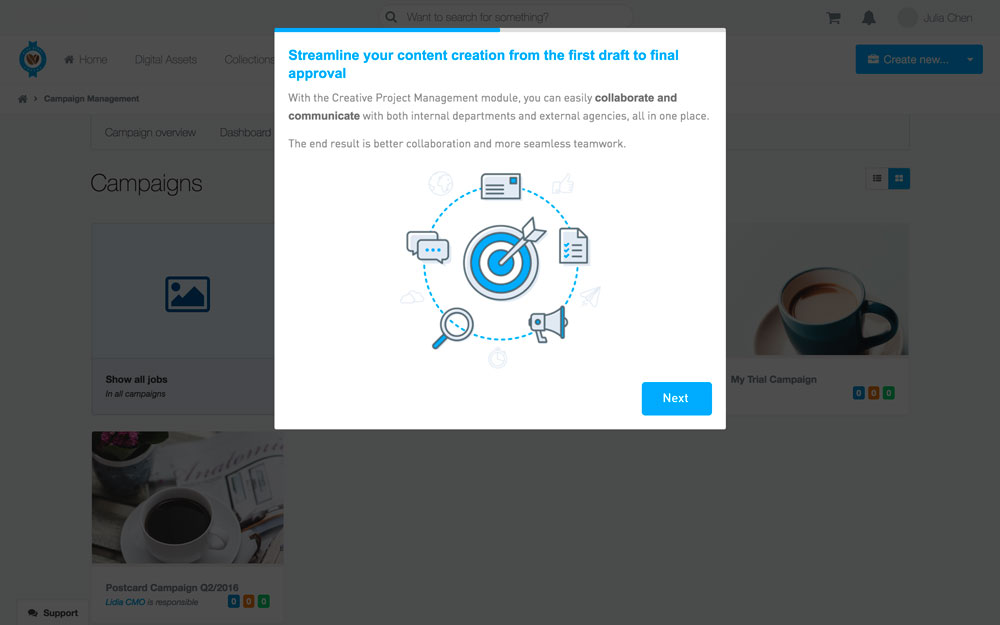 Bynder demo app walkthrough - step 5
