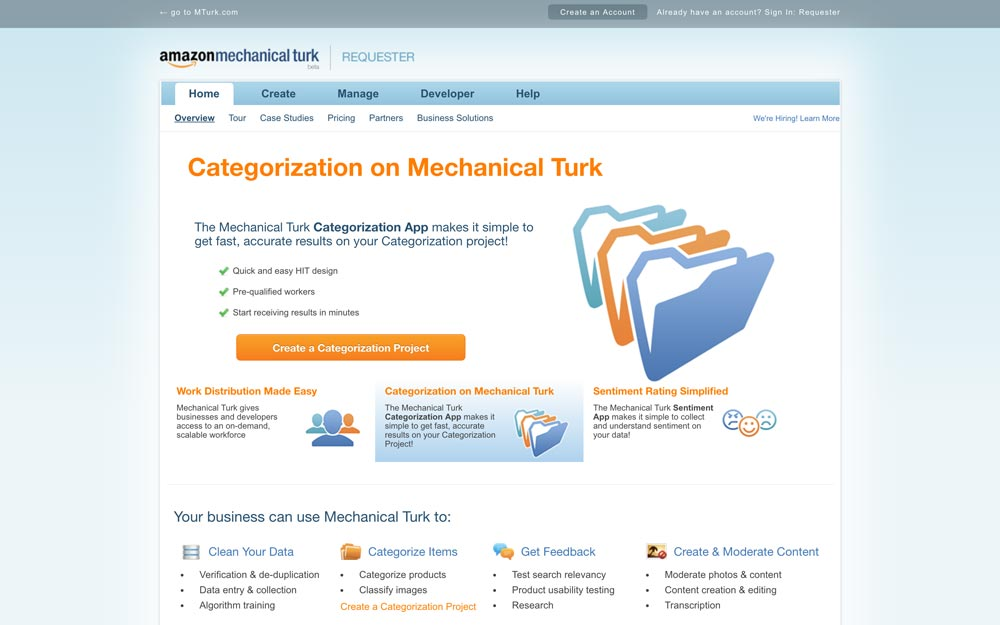 amazon mechanical turk usability testing