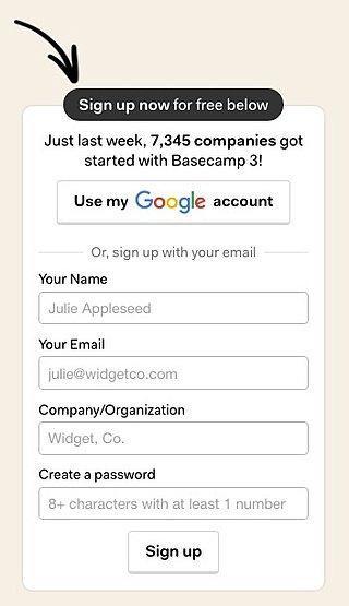 user onboarding social login