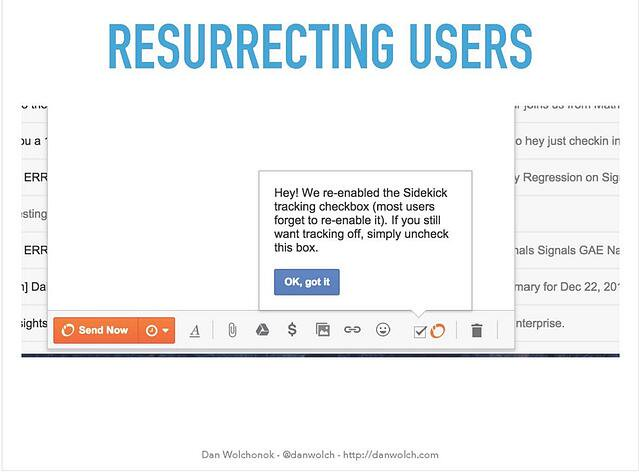 how hubspot sidekick resurrected users with a tooltip