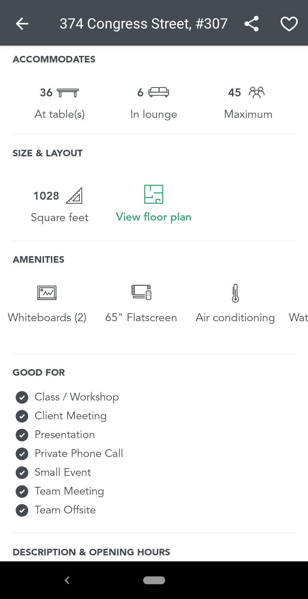 breather mobile app property details