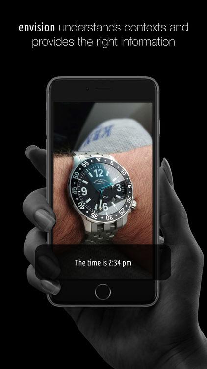 envision mobile app