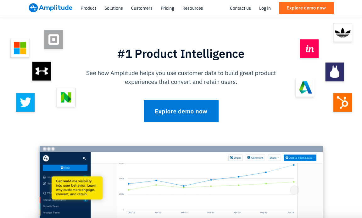 amplitude product analytics tool