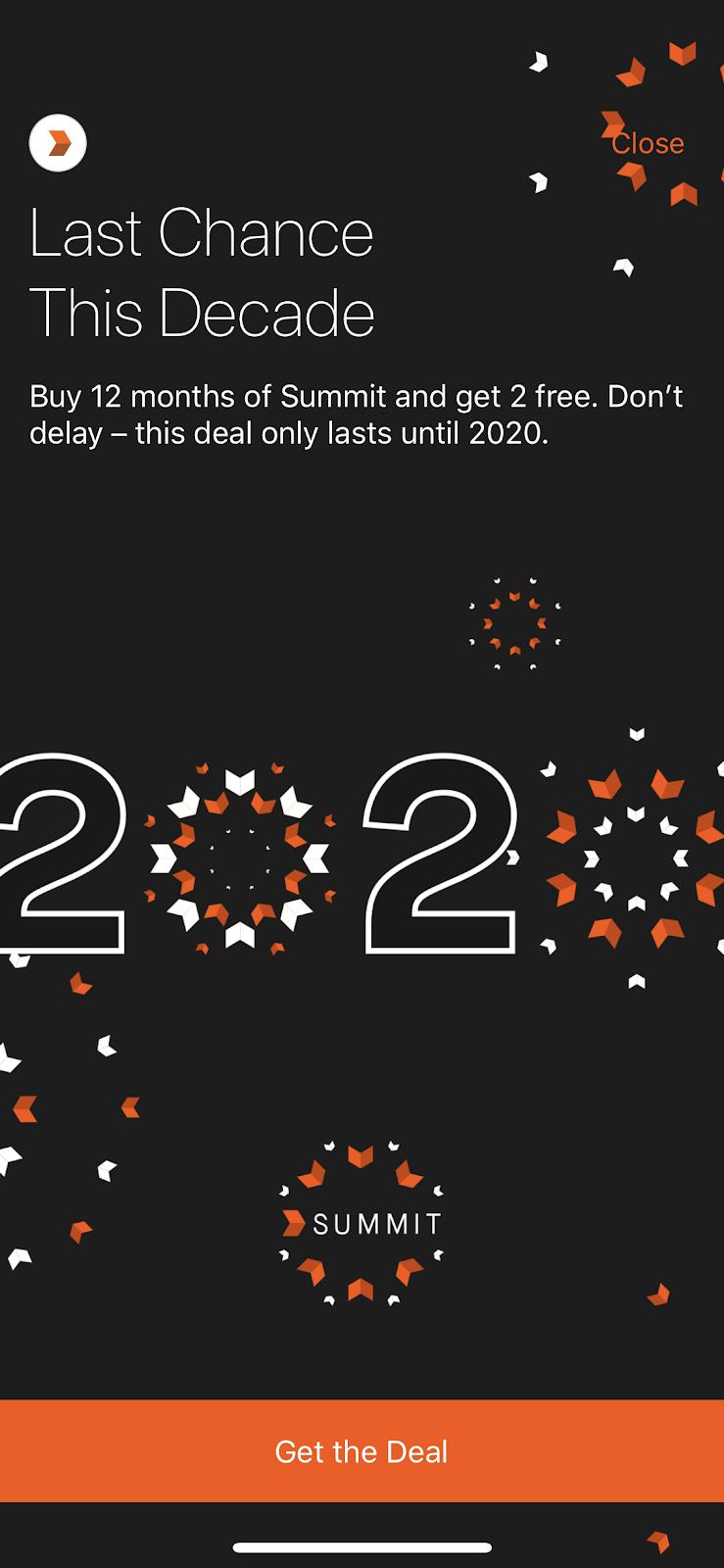 strava running app last 2 months free premium mobile app upgrade prompt