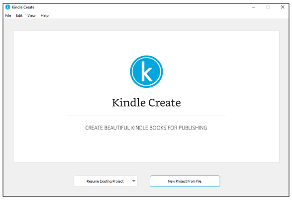 kindle create self-publishing tools on Amazon