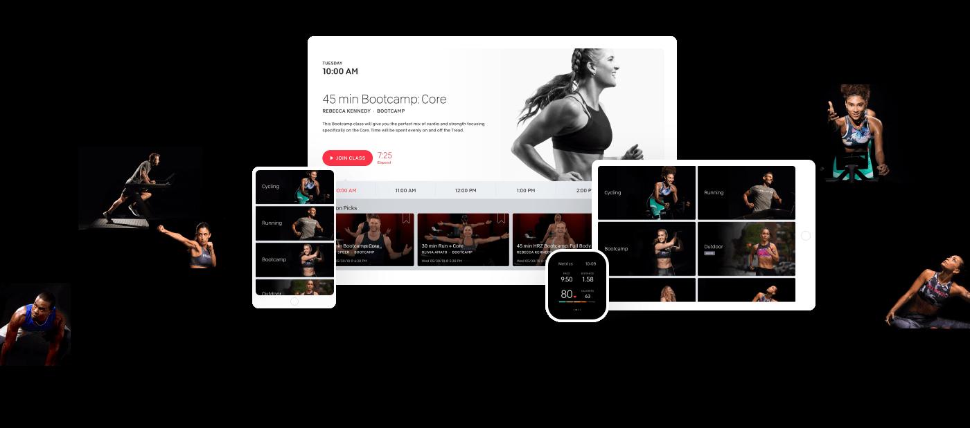 peloton user experience across devices smart workout tech